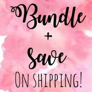 Other - Buy 2 or more items and pay the ONE shipping fee!!